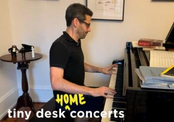 Jonathan Biss plays a Tiny Desk (home) concert.