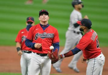 Cleveland's Major League Baseball team will get a new name sometime after the 2021 season. It follows the NFL's Washington Football Team in abandoning a name and imagery widely seen as racist or culturally offensive.