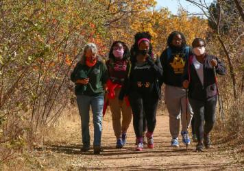 Vibe Tribe Adventures is one of many groups nationwide seeking to address barriers that often keep Black women from exploring outdoor activities.