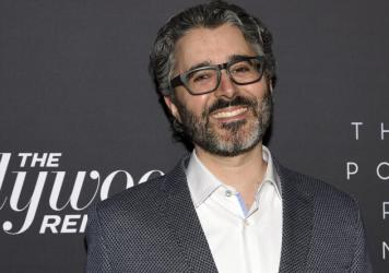 """Michael Barbaro, host of the """"The Daily"""" podcast for """"The New York Times,"""" shown in 2019 at the """"Most Powerful People in Media"""" reception staged by """"The Hollywood Reporter."""""""