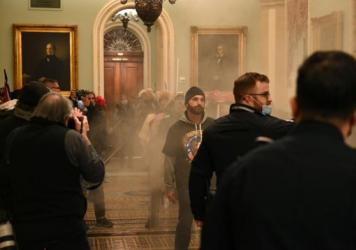 "Supporters of President Trump stormed the U.S. Capitol on January 6, 2021. Democratic Rep. Tim Ryan of Ohio says investigators are looking at ""potentially members of Congress"" who gave tours to rioters prior to the insurrection."