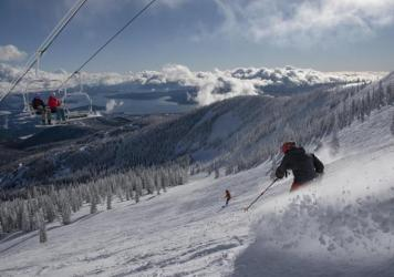 There's plenty of social distance out on the slopes, but resorts are requiring masks in lift lines and lodges and limiting lodge use. Most skiers and boarders are happy to comply but Schweitzer Mountain in Idaho had to suspend season passes for some who