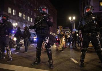 Portland has been a hotbed of anti-police and racial justice demonstrations since the summer. Wednesday's scuffle between police and anti-fascist demonstrators became just the latest such event in several months punctuated by demonstrations that turned v