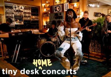 Lous and The Yakuza perform a Tiny Desk (home) concert.