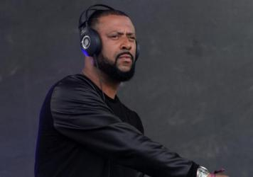 Madlib, performing during Pitchfork Fest at Union Park in Chicago on July 19, 2015.