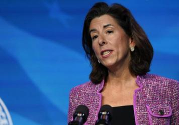 Rhode Island Gov. Gina Raimondo has been confirmed as the next secretary of the U.S. Department of Commerce, which oversees the Census Bureau.