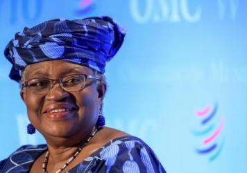 Ngozi Okonjo-Iweala, pictured in July 2020 in Geneva, will head the WTO beginning in March. She wants countries to drop restrictions on the export of vaccines and other medical supplies.