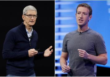 Facebook is pushing back on new Apple privacy rules for its mobile devices, this time saying the social media giant is standing up for small businesses in television and radio advertisements and full page newspaper ads.