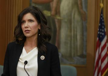 South Dakota Gov. Kristi Noem says she will sign the bill headed to her desk that prevents transgender girls from playing on sports teams of their gender identity.