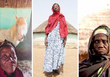 Three of the women who sing about their plight — and their hopes — on the album <em>I've Forgotten Now Who I Used To Be</em>. Their names are withheld to protect their physical safety because they have been accused of witchcraft.