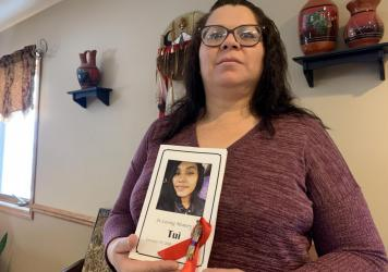 Molina Richards promised her friend that she wouldn't let anyone forget her daughter, Waniyetu Rose Loves War, who died in 2019.