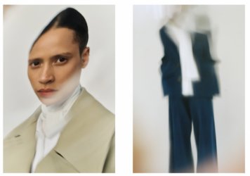 Designer Rabih Kayrouz says he's going back to basics with his new collection.