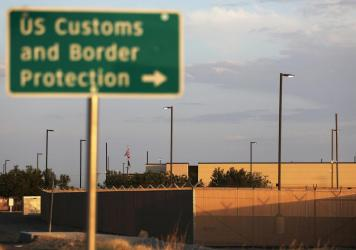 A U.S. Border Patrol station in Texas is seen in 2019. Customs and Border Protection is now holding a record number of minors in warehouse-like facilities as the Biden administration struggles with an illegal migration surge.