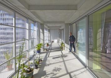 """Winter gardens and balconies were added to expand living space in <a href=""""https://www.lacatonvassal.com/index.php?idp=80"""">social buildings</a> in Bordeaux in 2017."""