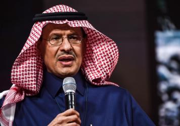 Saudi Energy Minister Abdulaziz bin Salman speaks at an investment conference in Riyadh, Saudi Arabia, on Jan. 27. OPEC and its allies on Thursday decided to gradually boost oil production in anticipation of a rebound in crude demand over the summer.