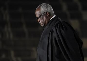 Supreme Court Justice Clarence Thomas issued a concurrence in a case over former President Donald Trump's Twitter account in which Thomas suggested that social media companies should be regulated like public utilities.