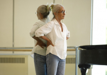 """Twyla Tharp, shown above at Pacific Northwest Ballet in 2008, says the pandemic has impacted her body: """"In terms of routine, discipline, just ordinary day-to-day activities — the body doesn't know itself at the moment."""""""