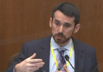 Witness Seth Stoughton testified on Monday in the trial of former Minneapolis police Officer Derek Chauvin that the force used against George Floyd was not reasonable.