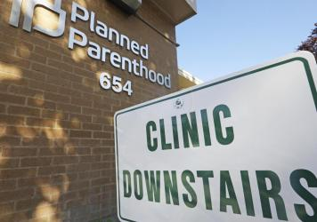 "A Planned Parenthood of Utah facility in Salt Lake City. The Biden administration is moving to reverse a Trump-era family planning policy that critics describe as a domestic ""gag rule"" for reproductive healthcare providers."
