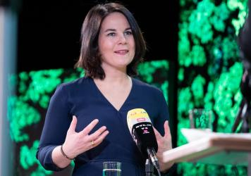 With the Greens now leading the polls, party co-chair Annalena Baerbock, 40, is seen as a serious contender for German chancellor in September's general election. She has moved the Greens increasingly to the political center.