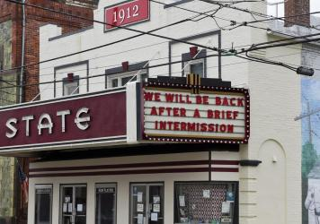 The State Theatre in Boyertown, Penn. photographed on Jan. 4, 2021. In April, the U.S. Small Business Administration had a troubled start to its Small Venue Operators Grant program.