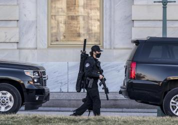 Heightened security has remained a feature around the U.S. Capitol since the Jan. 6 riot. Capitol Police officers are now taking part in an initiative focused on healing trauma.