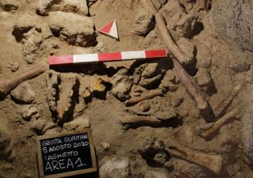"""The Italian Culture Ministry said the Guattari Cave in San Felice Circeo was """"one of the most significant places in the world for the history of Neanderthals."""""""