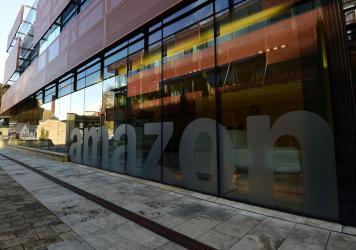 A view of Amazon's headquarters in Luxembourg. The online retail giant on Tuesday prevailed at the European Union's second-highest court in a major tax case.