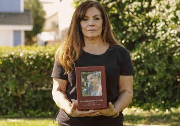 In December 2019, Cynthia Carrillo placed her older brother David at Villa Mesa Care Center, a nursing home in Upland, Calif. After the shutdown in March of 2020, Cynthia Carrillo couldn't visit David inside Villa Mesa. One month later, David, 65, who ha