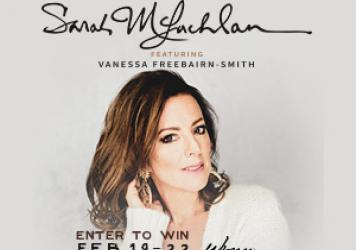 Win Tickets to See Sarah McLachlan