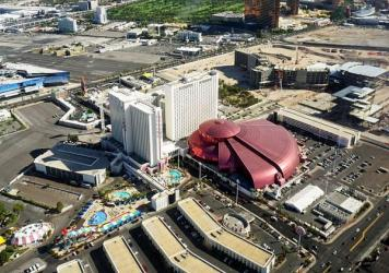 Aerial view of the Circus Circus Hotel & Casino