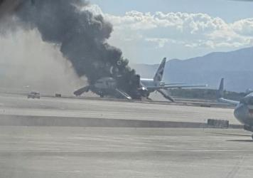 Las Vegas British Airways fire