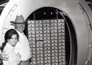 Benny Binion and Becky Binion