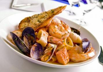 Rick Moonen's cioppino