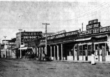 Commercial Street in 1910.