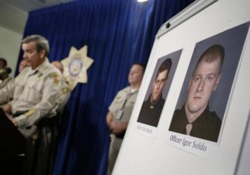 Metro Police officers murdered