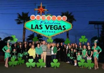 Welcome to Fabulous Las Vegas Sign in Green