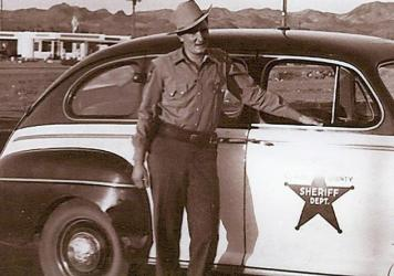 Star power: Lamb was a longtime lawman — but also did stints as a bounty hunter and private eye.