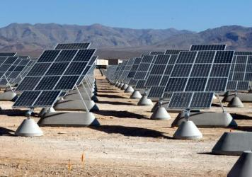 Nellis Air Force Base solar panels