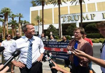 Martin O'Malley in Las Vegas