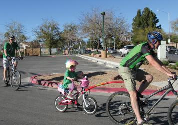 Pedal power: The Flower Power Bike Ride is free for all ages.