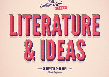 Literature and Ideas